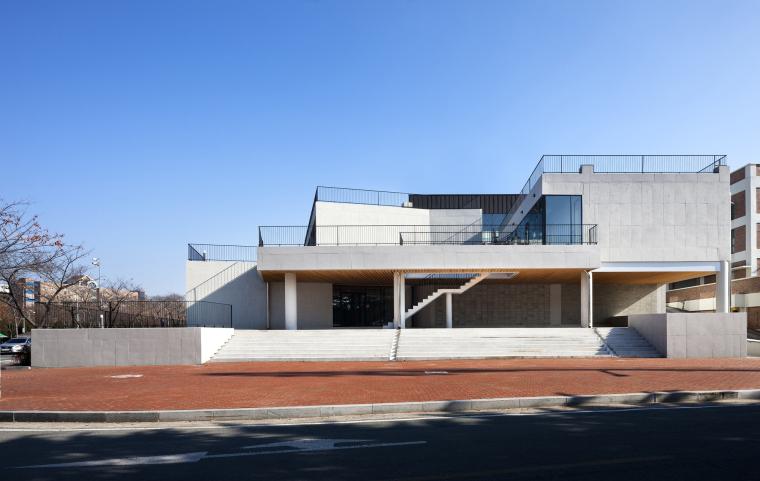韩国庆北国立大学建筑工作室外部-韩国庆北国立大学建筑工作室第4张图片