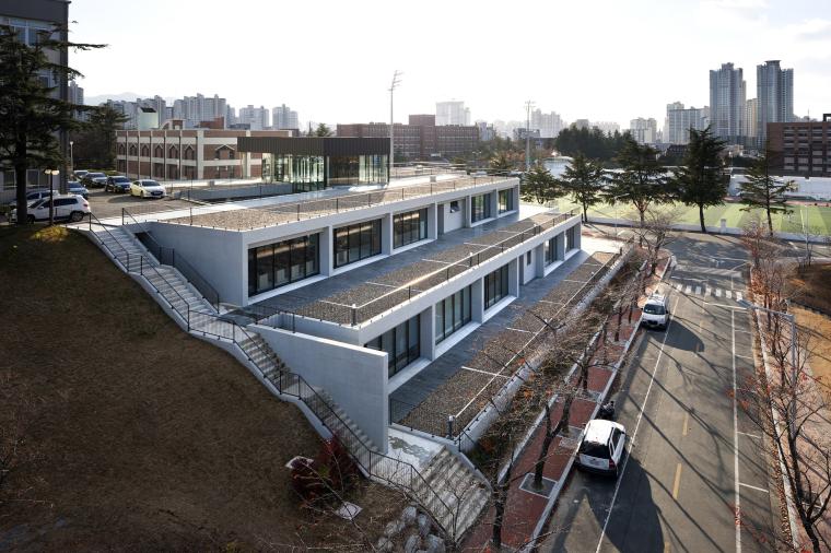 韩国庆北国立大学建筑工作室外部-韩国庆北国立大学建筑工作室第3张图片