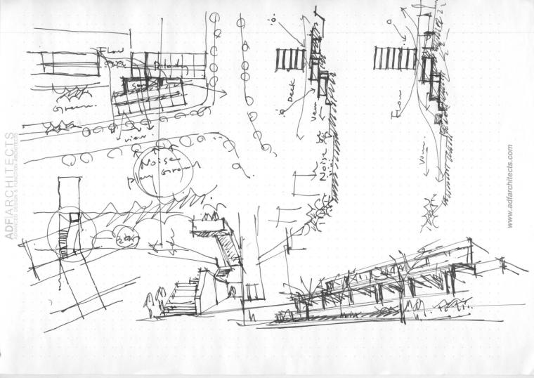 韩国庆北国立大学建筑工作室草图-韩国庆北国立大学建筑工作室第15张图片