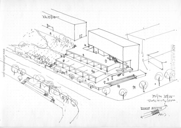 韩国庆北国立大学建筑工作室草图-韩国庆北国立大学建筑工作室第16张图片