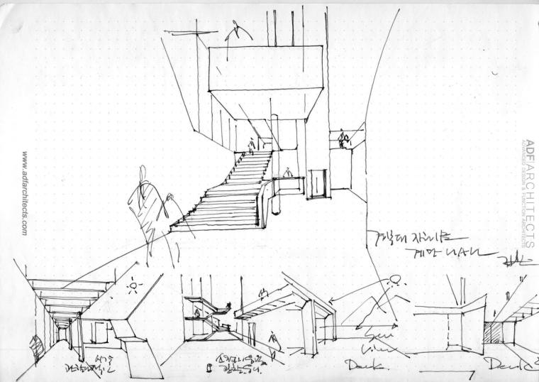韩国庆北国立大学建筑工作室草图-韩国庆北国立大学建筑工作室第17张图片