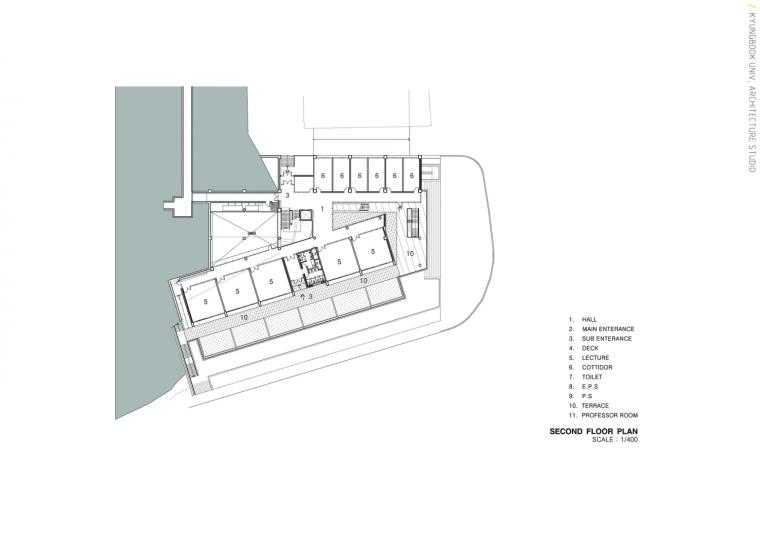 韩国庆北国立大学建筑工作室平面-韩国庆北国立大学建筑工作室第22张图片