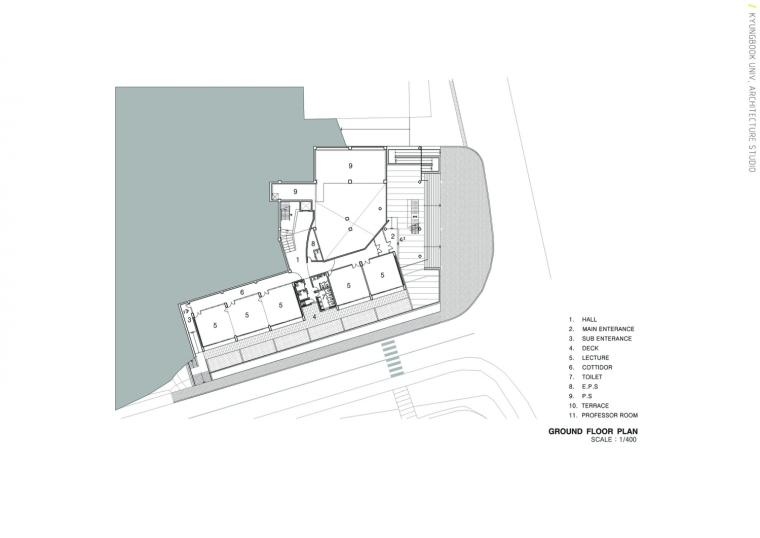 韩国庆北国立大学建筑工作室平面-韩国庆北国立大学建筑工作室第23张图片