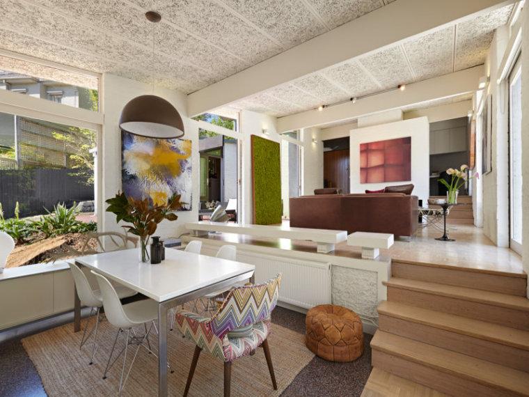 白色天花板公寓室内实景图-白色天花板公寓第3张图片
