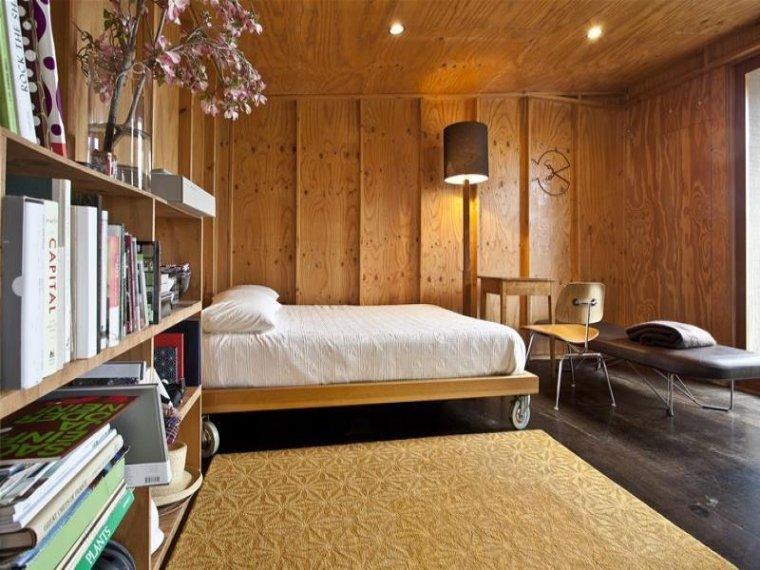 白色天花板公寓室内卧室实景图-白色天花板公寓第10张图片