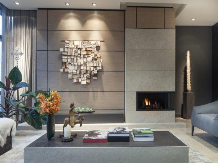 白色天花板公寓室内客厅实景图-白色天花板公寓第13张图片