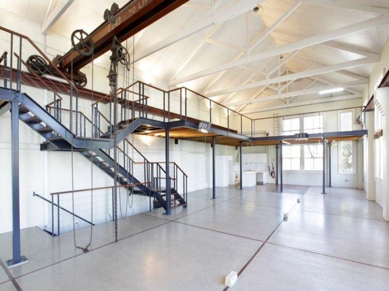 白色天花板公寓室内实景图-白色天花板公寓第12张图片