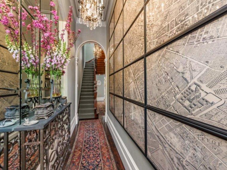 白色天花板公寓室内过道实景图-白色天花板公寓第6张图片