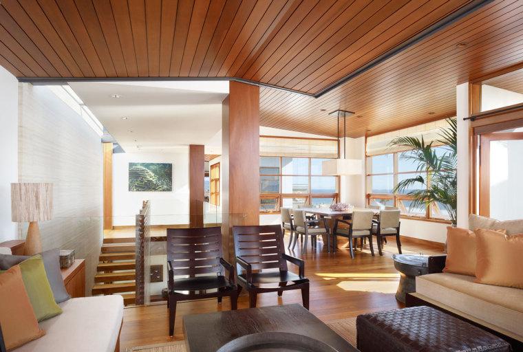 美国三十三街住宅内部客厅实景图-美国三十三街住宅第8张图片