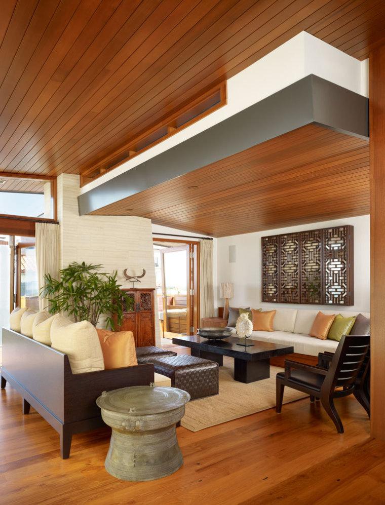 美国三十三街住宅内部客厅实景图-美国三十三街住宅第10张图片