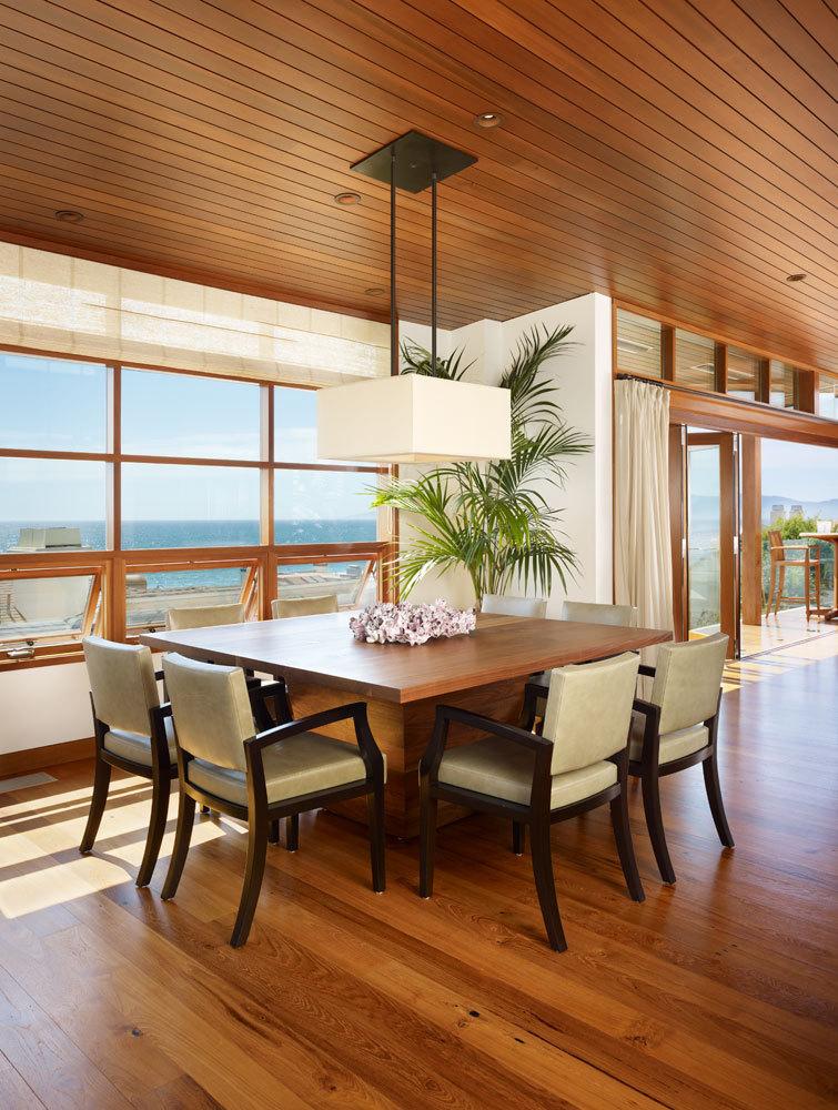 美国三十三街住宅内部餐桌实景图-美国三十三街住宅第12张图片