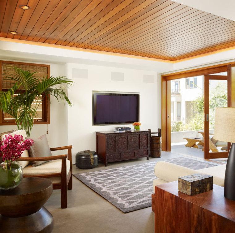 美国三十三街住宅内部客厅实景图-美国三十三街住宅第9张图片