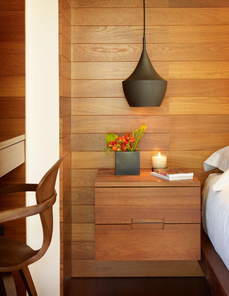 美国三十三街住宅内部卧室局部实-美国三十三街住宅第20张图片