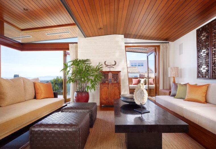 美国三十三街住宅内部客厅实景图-美国三十三街住宅第7张图片