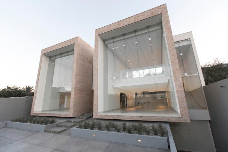 墨西哥HUDSON住宅外部实景图-墨西哥HUDSON住宅第3张图片
