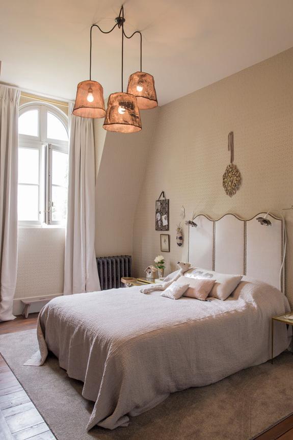 法国诺曼底的一座小城堡室内卧室-法国诺曼底的一座小城堡第5张图片