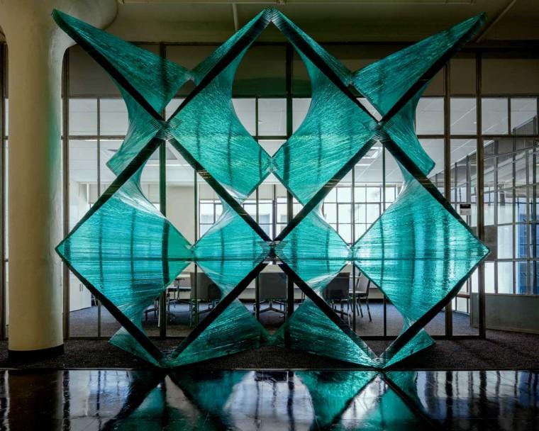 美国透明的建筑构件内部实景图-美国透明的建筑构件第2张图片