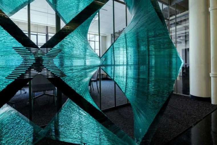 美国透明的建筑构件内部局部实景-美国透明的建筑构件第4张图片