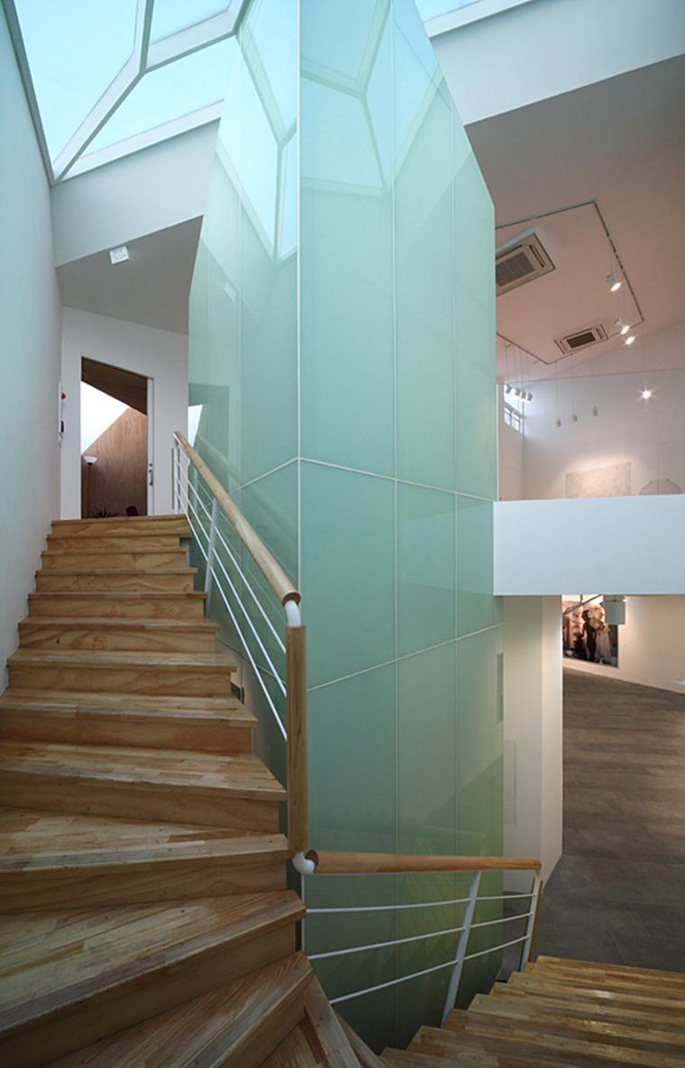 韩国YeonHuiDong画廊内部楼梯实景-韩国YeonHuiDong画廊第15张图片