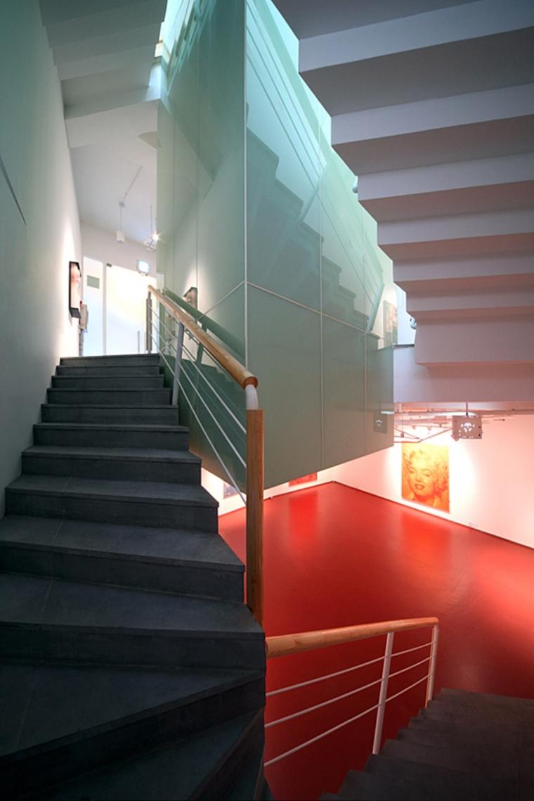 韩国YeonHuiDong画廊内部楼梯实景-韩国YeonHuiDong画廊第14张图片