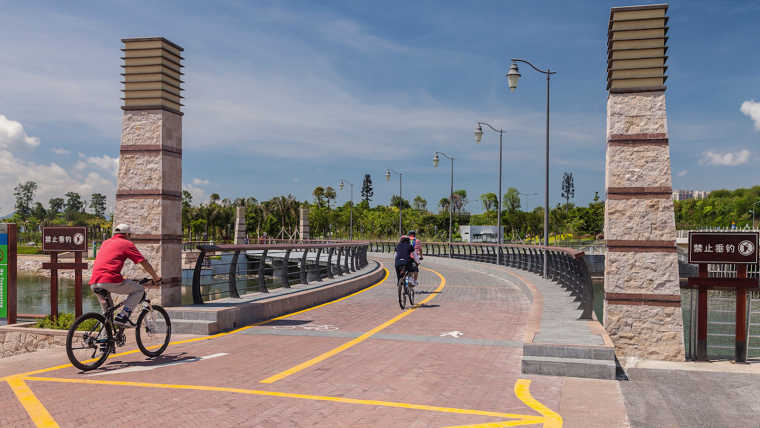 广东深圳湾景观外部道路实景图-广东深圳湾景观第3张图片