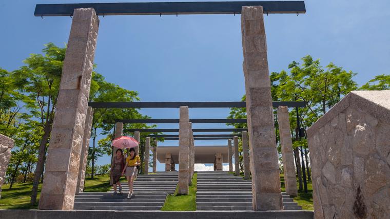 广东深圳湾景观外部实景图-广东深圳湾景观第2张图片