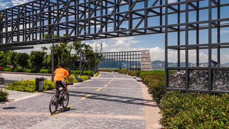广东深圳湾景观外部道路实景图-广东深圳湾景观第4张图片