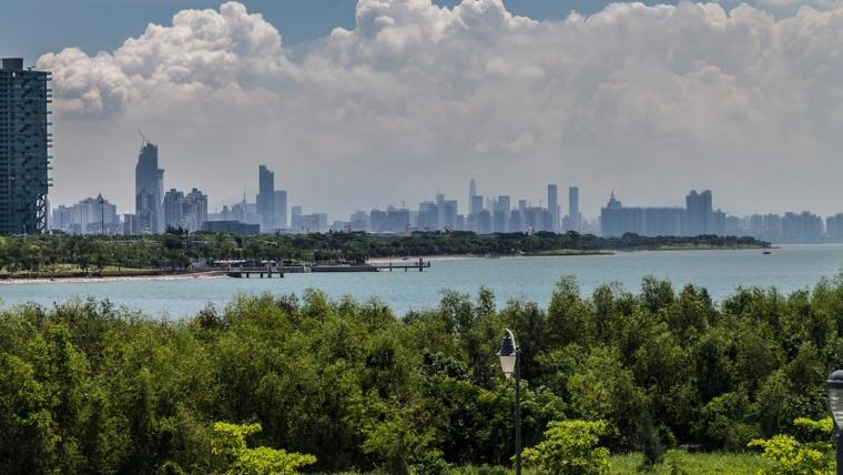 广东深圳湾景观外部实景图-广东深圳湾景观第8张图片