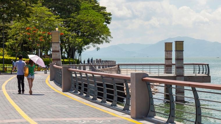 广东深圳湾景观外部实景图-广东深圳湾景观第7张图片
