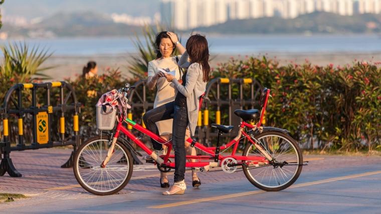 广东深圳湾景观外部局部实景图-广东深圳湾景观第11张图片