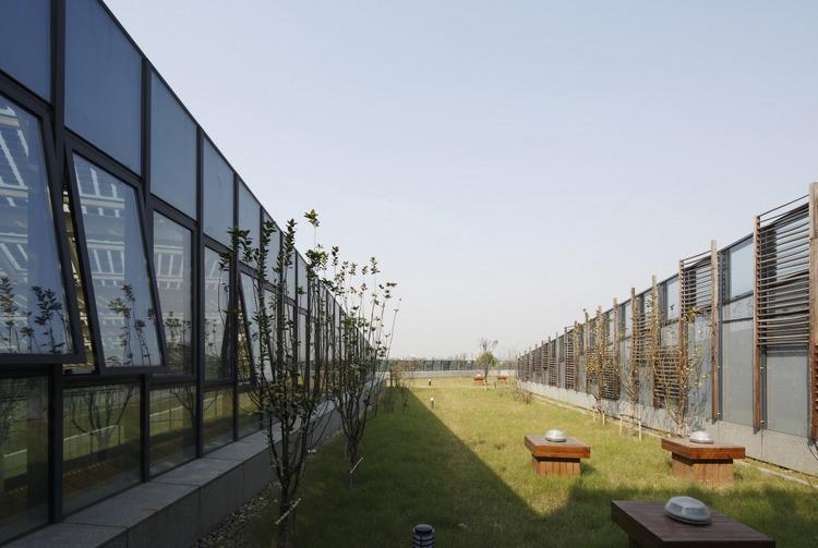 浙江国家湿地公园绿色大楼景观外-浙江国家湿地公园绿色大楼景观第4张图片