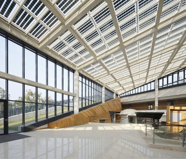 浙江国家湿地公园绿色大楼景观内-浙江国家湿地公园绿色大楼景观第8张图片
