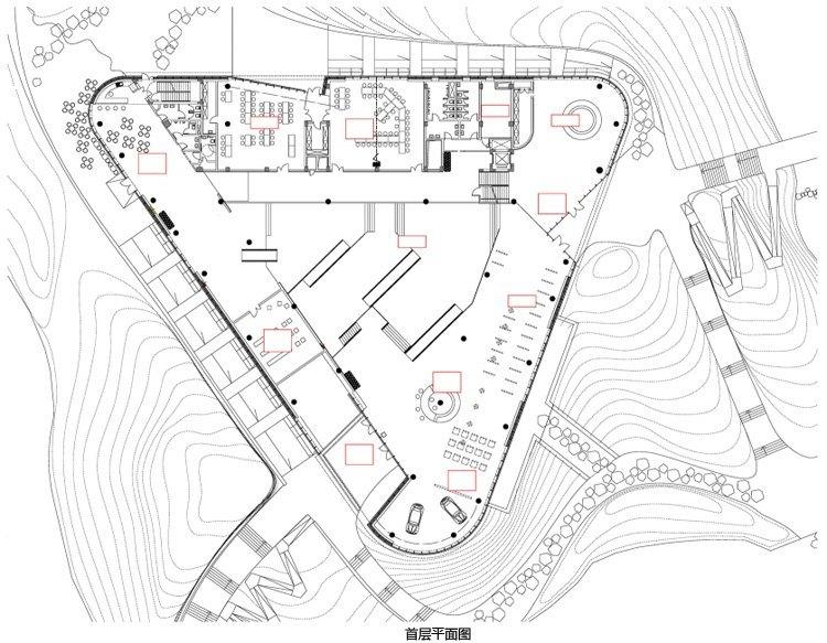 浙江国家湿地公园绿色大楼景观平-浙江国家湿地公园绿色大楼景观第17张图片