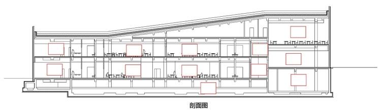 浙江国家湿地公园绿色大楼景观剖-浙江国家湿地公园绿色大楼景观第22张图片