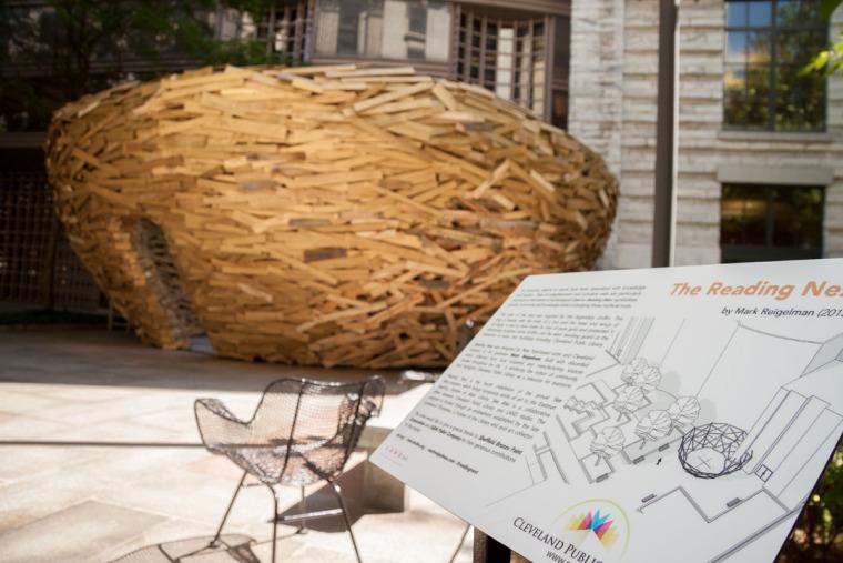 美国纽约木板鸟巢外部实景图-美国纽约木板鸟巢第3张图片