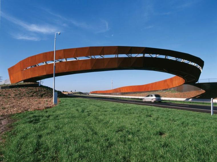 澳大利亚高速公路匝道景观