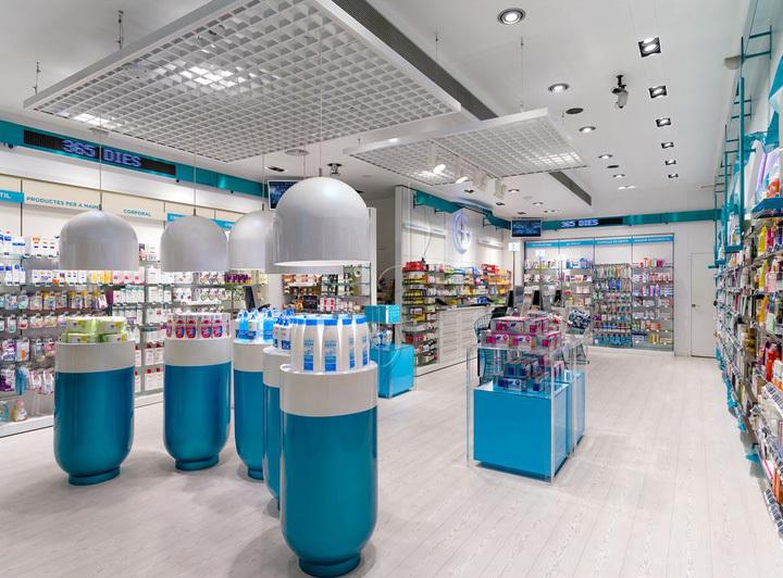 西班牙加洛斯药店室内局部实景图-西班牙加洛斯药店第3张图片