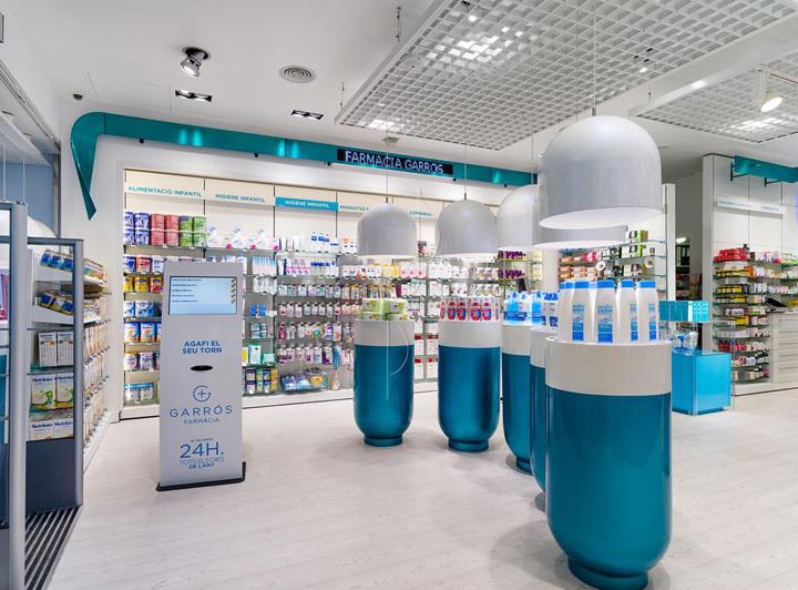 西班牙斯药店室内局部实景图-西班牙加洛斯药店第4张图片