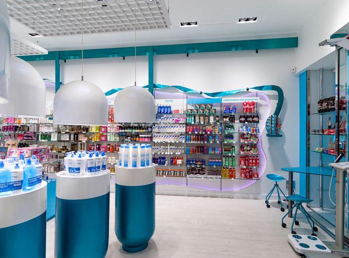 西班牙斯药店室内过道实景图-西班牙加洛斯药店第6张图片