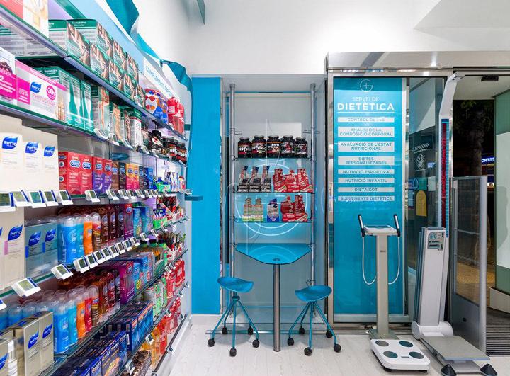 西班牙斯药店室内过道实景图-西班牙加洛斯药店第7张图片