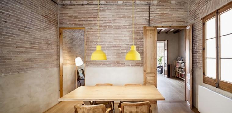西班牙Eixample区公寓改造室内房-西班牙Eixample区公寓改造第8张图片
