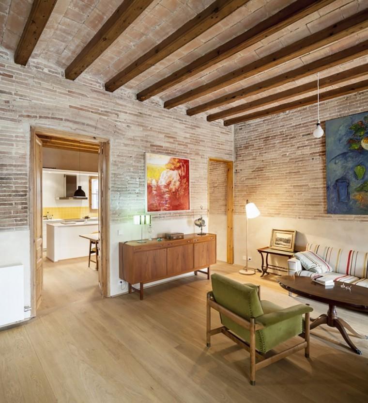 西班牙Eixample区公寓改造室内客-西班牙Eixample区公寓改造第3张图片