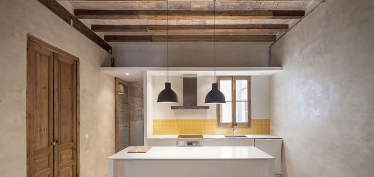 西班牙Eixample区公寓改造室内浴-西班牙Eixample区公寓改造第6张图片