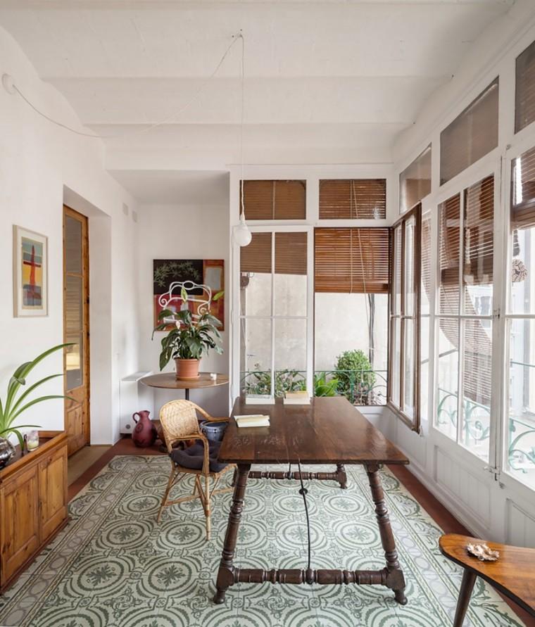 西班牙Eixample区公寓改造室内房-西班牙Eixample区公寓改造第14张图片