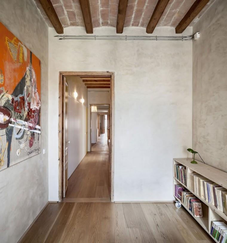 西班牙Eixample区公寓改造室内房-西班牙Eixample区公寓改造第13张图片