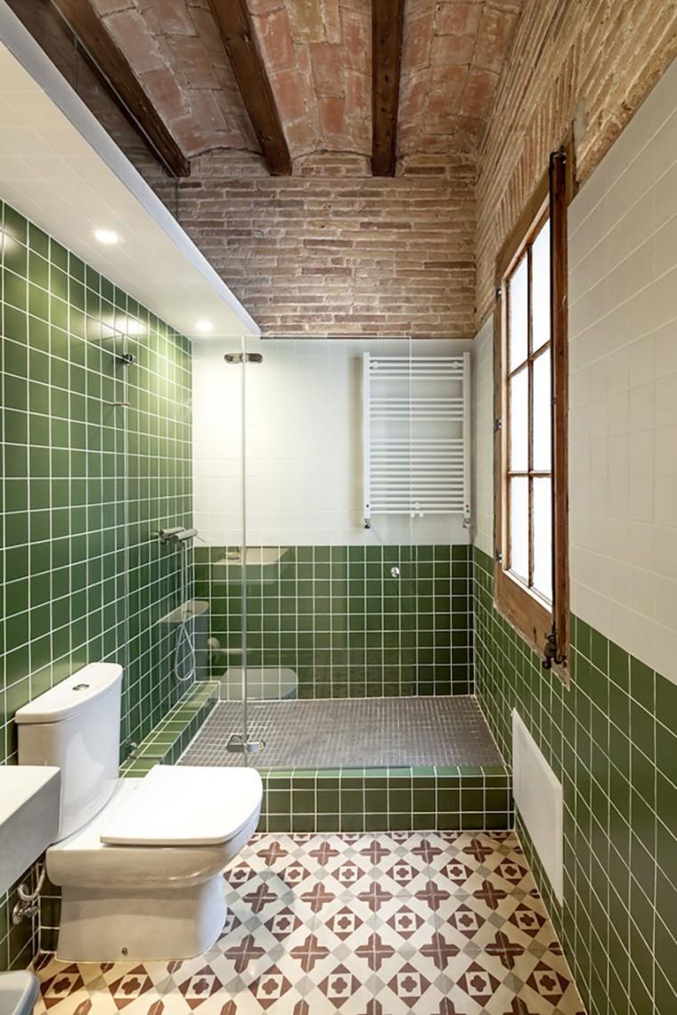 西班牙Eixample区公寓改造室内浴-西班牙Eixample区公寓改造第11张图片