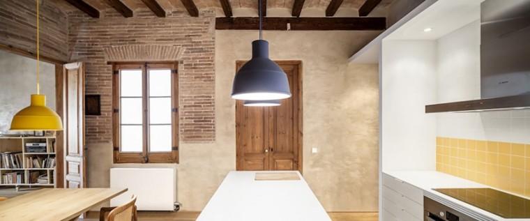 西班牙Eixample区公寓改造室内浴-西班牙Eixample区公寓改造第7张图片