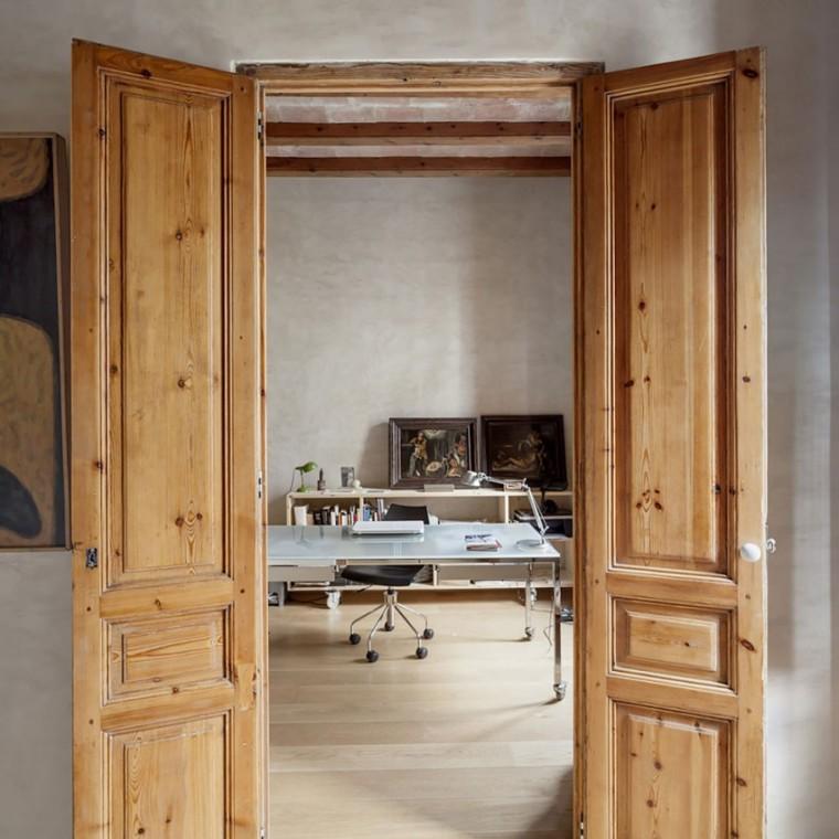 西班牙Eixample区公寓改造室内门-西班牙Eixample区公寓改造第12张图片