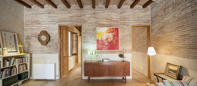 西班牙Eixample区公寓改造室内实-西班牙Eixample区公寓改造第4张图片