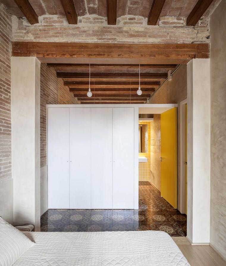 西班牙Eixample区公寓改造室内卧-西班牙Eixample区公寓改造第10张图片
